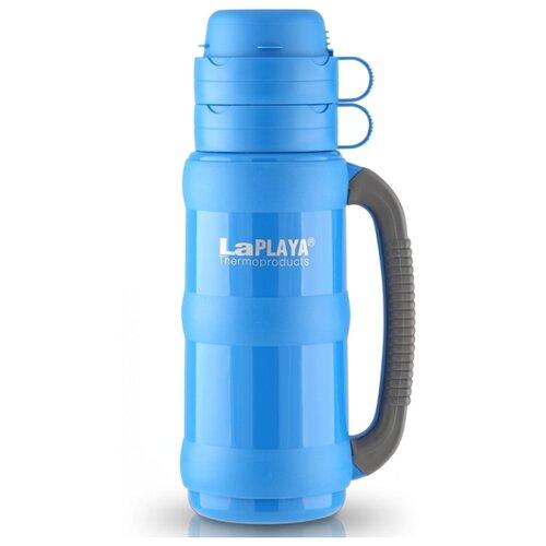 Классический термос LaPlaya Traditional Glass (0,5 л) голубой термос 1 л laplaya traditional glass 560005