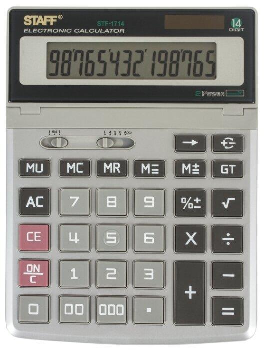 Калькулятор бухгалтерский STAFF STF-1714