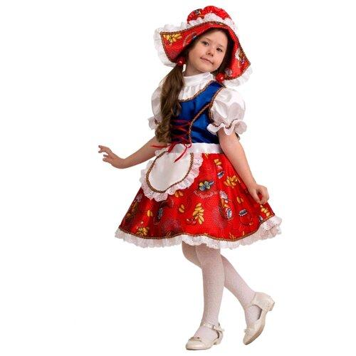 Купить Костюм Батик Jeanees Красная шапочка (5205), красный, размер 140, Карнавальные костюмы