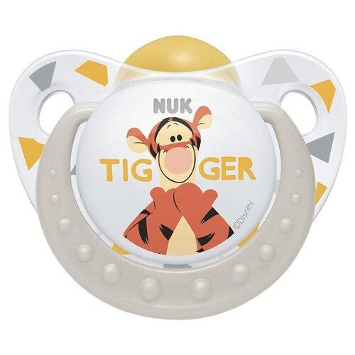 Пустышка латексная ортодонтическая NUK Disney Winnie the Pooh Soother 0-6 м (1 шт) бежевыйПустышки и аксессуары<br>