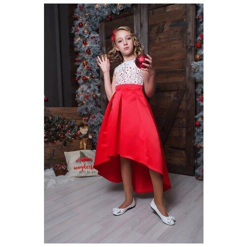 Купить Платье Ladetto размер 32-134, красный, Платья и сарафаны