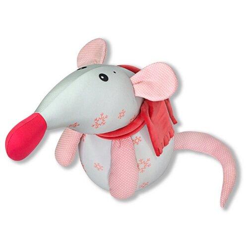 Купить Игрушка-антистресс Штучки, к которым тянутся ручки Мышка Снежинка - символ Нового года 2020, розовая снежинка, малая, Игрушки-антистресс