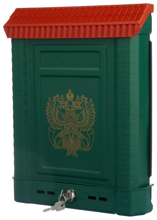 Почтовый ящик Цикл Премиум 6026-00 390 х 280 мм зеленый