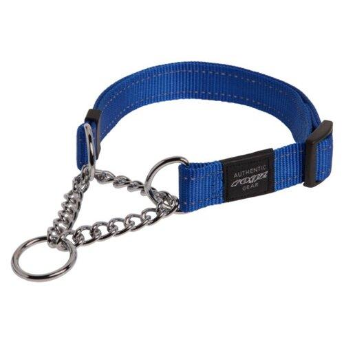 Ошейник-удавка Rogz Utility XL (HC05) 43-70 см синий