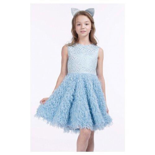 Купить Платье Смена размер 152/76, голубой, Платья и сарафаны