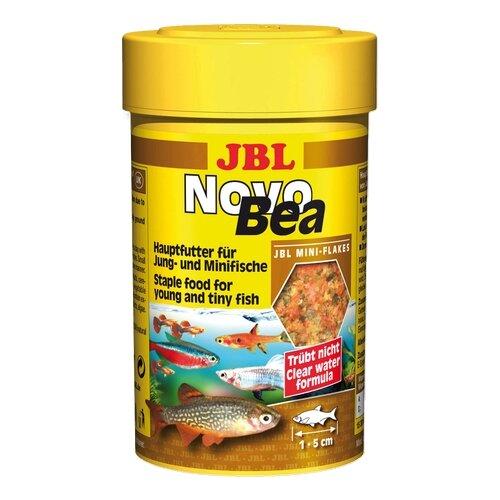 Фото - Сухой корм для рыб JBL NovoBea, 100 мл, 28 г сухой корм для рыб jbl novopleco 53 г