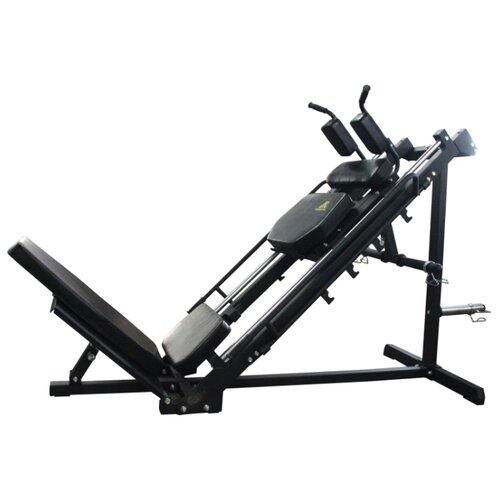 Многофункциональный тренажер DFC POWERGYM HM028 черный/черный тренажер многофункциональный royal fitness bench 1520