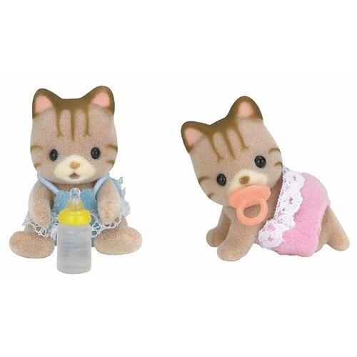 Купить Фигурки Sylvanian Families Полосатые котята-двойняшки 5188, Игровые наборы и фигурки