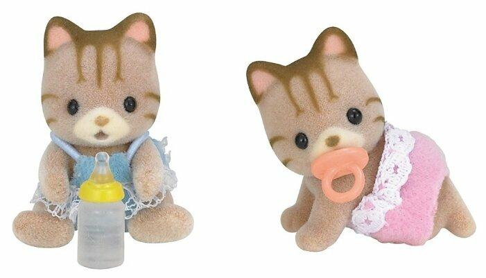 Фигурки Sylvanian Families Полосатые котята-двойняшки 5188 фото 1