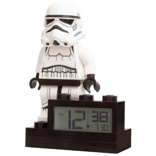 9004032 Будильник LEGO Star Wars, минифигура Stormtrooper ночники lego игрушка минифигура фонарь star wars штормтрупер