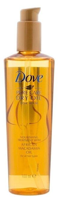 Dove Сухое масло для волос Преображающий уход