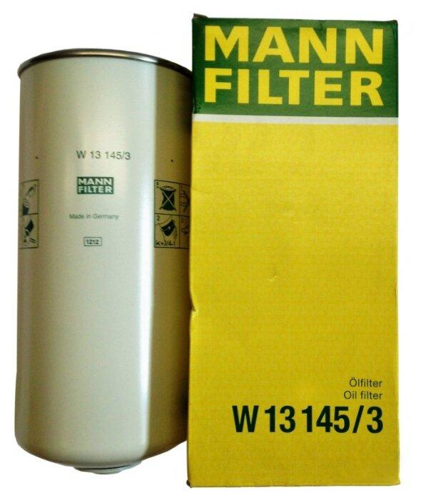 Масляный фильтр MANNFILTER W13145/3