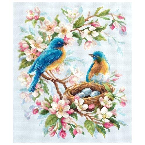 Купить Чудесная Игла Набор для вышивания Весенняя песня 21 х 27 см (130-041), Наборы для вышивания