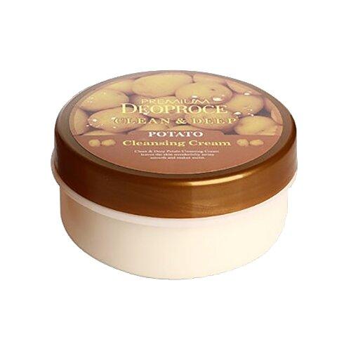 Deoproce крем очищающий для лица Premium с экстрактом картофеля, 300 мл эссенция для лица с экстрактом ростков баобаба 50мл deoproce musevera