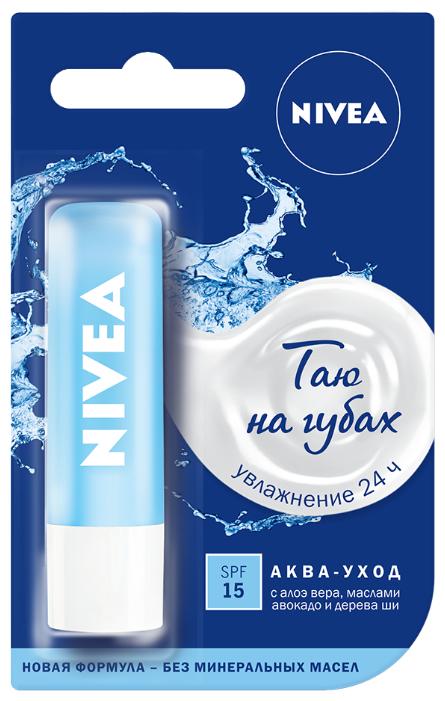 Nivea Бальзам для губ Аква-уход