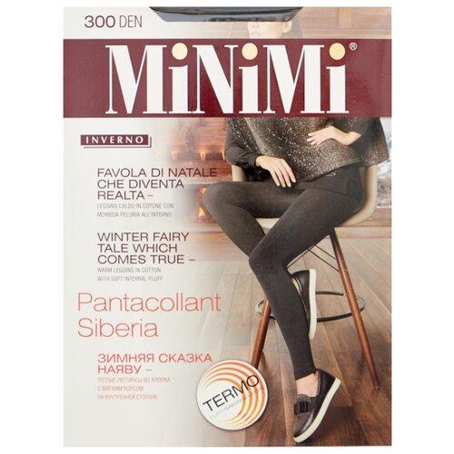 Леггинсы MiNiMi Pantacollant Siberia 300 den, размер 2-S/M, nero (черный) filodoro deluxe pantacollant леггинсы цвет nero размер s m