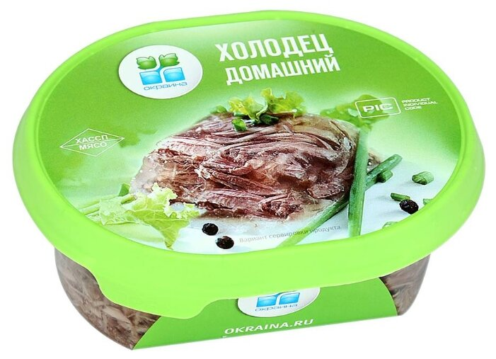 Окраина Холодец Домашний из говядины и свинины 300 г