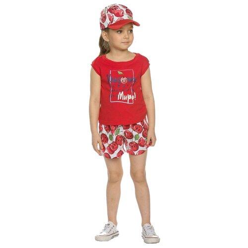 цена на Комплект одежды Pelican размер 2, красный