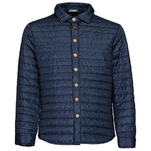 Купить Куртка Gulliver 21911BJC4106 размер 158, синий, Куртки и пуховики