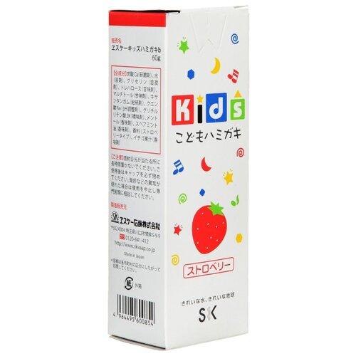 Купить Зубная паста SK Kids с ароматом клубники 3+, 60 г, Гигиена полости рта