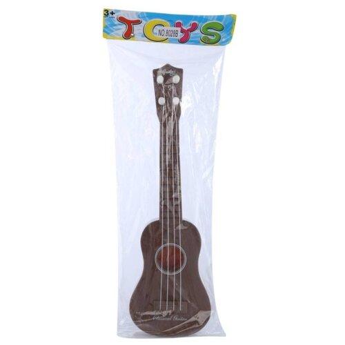 Купить S+S Toys гитара DL0038748 коричневый, Детские музыкальные инструменты