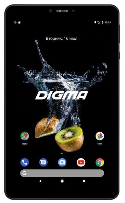 Планшет DIGMA CITI Octa 70, 4GB, 64GB, 3G, 4G, Android 9.0 черный