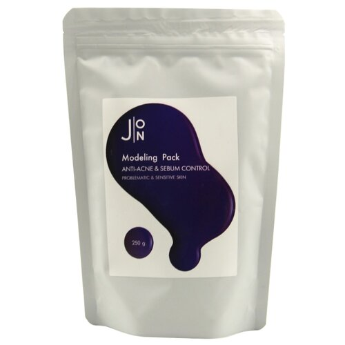 J:ON Альгинатная маска против акне и для контроля жирности кожи лица Anti-Acne & Sebum Control Modeling Pack, 250 г