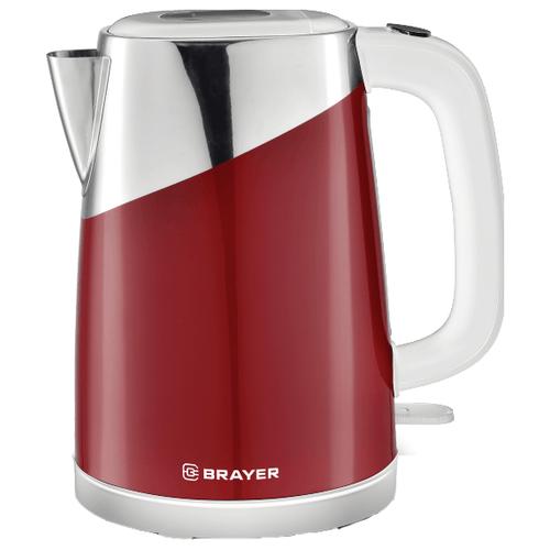 Фото - Чайник BRAYER BR1023, красный чайник brayer br1020