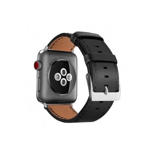 Фото - EVA Кожаный ремешок для Apple Watch 42/44mm черный eva ремешок спортивный для apple watch 42 44mm розовый