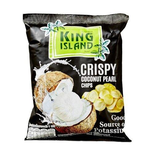 Чипсы King Island кокосовые из