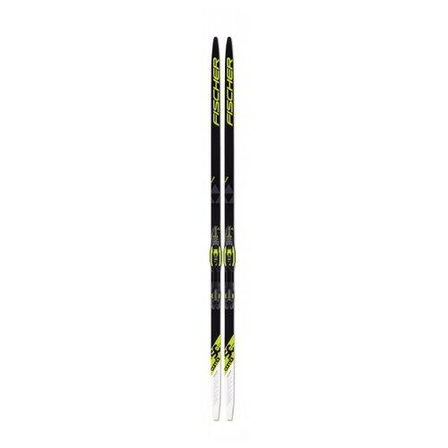 цены Беговые лыжи Fischer SC Combi IFP черный/желтый 202 см