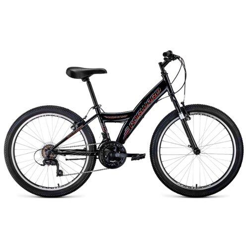 Подростковый горный (MTB) велосипед FORWARD Dakota 24 1.0 (2020) черный 13 (требует финальной сборки) подростковый горный mtb велосипед forward dakota 24 1 0 2020 черный 13 требует финальной сборки