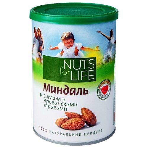 Фото - Миндаль Nuts for Life обжаренный соленый с луком и прованскими травами 200 г кешью nuts for life обжаренный