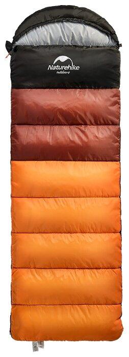Спальный мешок Naturehike U350S NH17S011-D одеяло с капюшоном