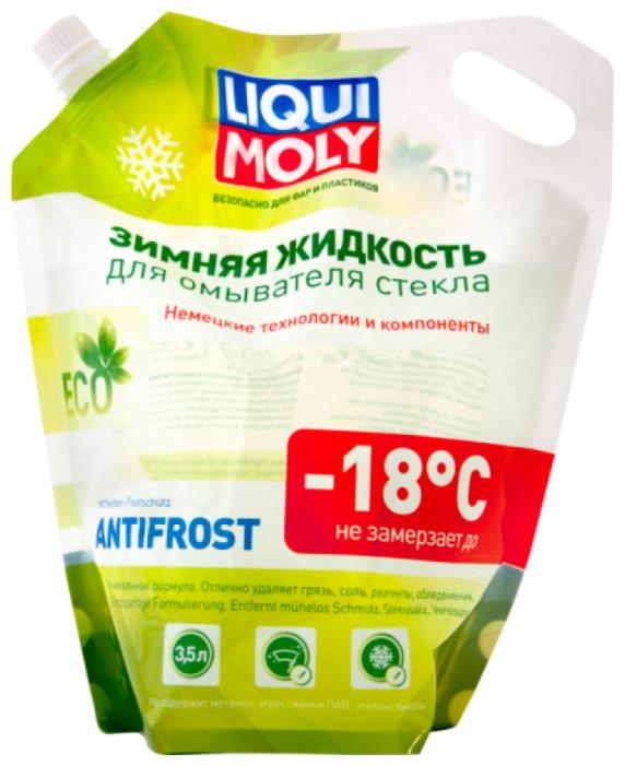 Жидкость для стеклоомывателя LIQUI MOLY ANTIFROST Scheibenfrostschutz, -18°C, 3.5 л