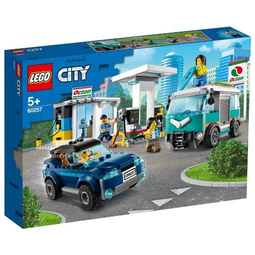 Конструктор LEGO City 60257 Станция технического обслуживания конструктор city lego lego mp002xb00c9t