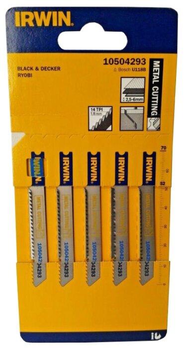 Набор пилок для лобзика Irwin 10504293