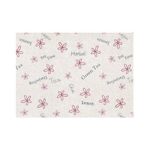 Ткань PePPY 4550 PANEL для пэчворка фасовка 60 x 142 см 135±5 г/кв.м цветы/надписи 018