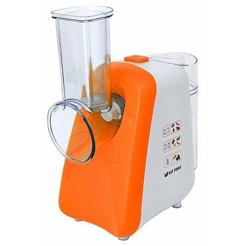Измельчитель Kitfort KT-1318 оранжевый/белый