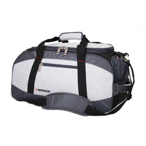 сумка планшет wenger текстиль светло серый Сумка спортивная WENGER 52744465, серый/черный