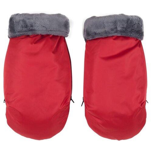 Муфта для рук Mammie варежки (красный)