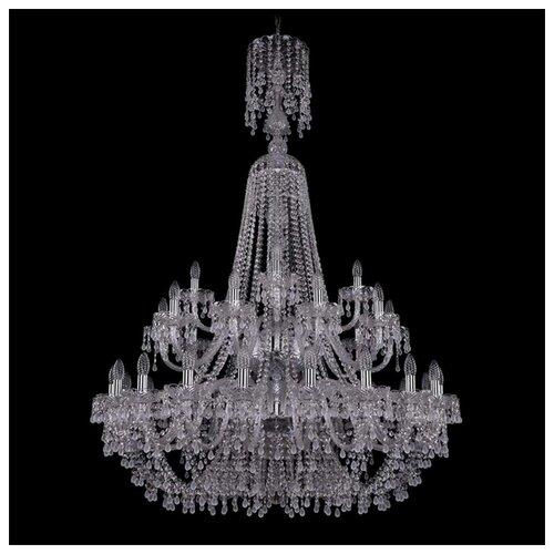 Люстра Bohemia Ivele Crystal 1410 1410/20+10+5/400/XL-160/2d/Ni/V0300, E14, 1400 Вт bohemia ivele crystal 1410 6 160 ni v0300 sh2