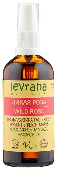 Масло для тела Levrana Дикая роза массажное