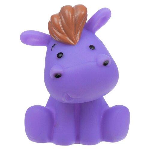 Купить Игрушка для ванной Крошка Я Бегемотик (2993048) фиолетовый, Игрушки для ванной