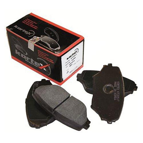 Фото - Дисковые тормозные колодки передние KORTEX KT3251T для Toyota RAV4 (4 шт.) дисковые тормозные колодки передние nibk pn1521 для toyota camry 4 шт
