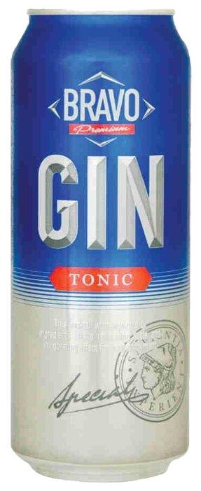 Напиток слабоалкогольный Bravo Gin & Tonic, 0.45 л