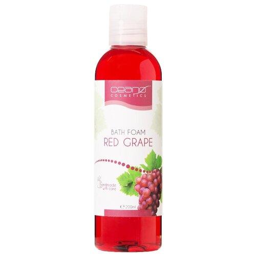 Ceano Cosmetics Пена для ванн Красный виноград, 200 мл ceano cosmetics кремер для ванн малина 40 г