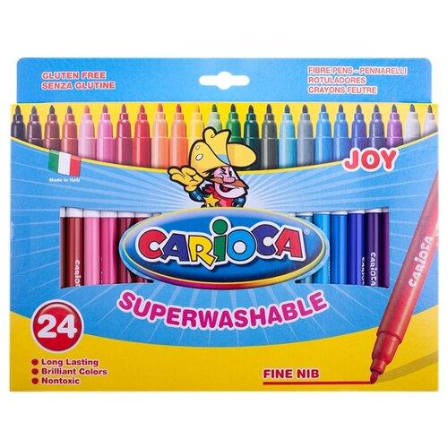 Купить Carioca Набор фломастеров Joy, 24 шт. (40615), Фломастеры