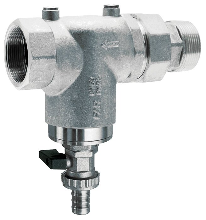 Фильтр механической очистки FAR FA 3936 *100 муфтовый (ВР/НР), латунь