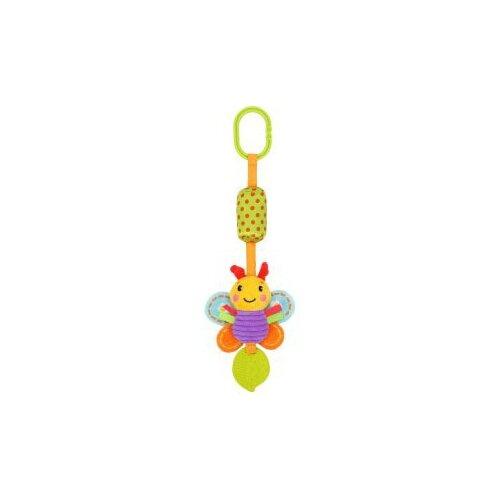 Купить Подвесная игрушка Жирафики Бабочка (939719) зеленый/оранжевый, Подвески